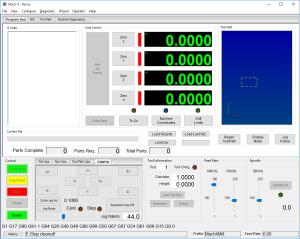 Mach4 CNC software