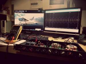 Debugging with USB oscilloscope
