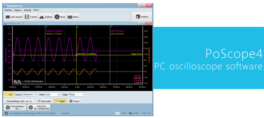 pc oscilloscope software