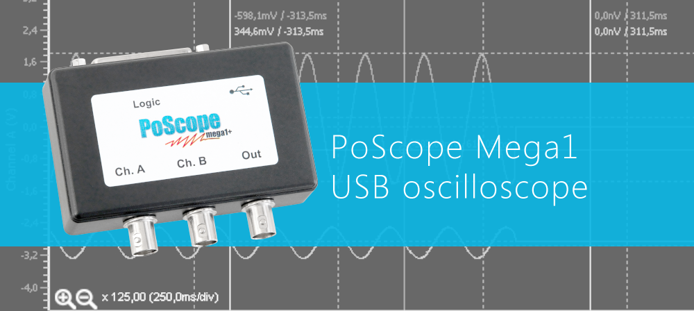 USB oscilloscope