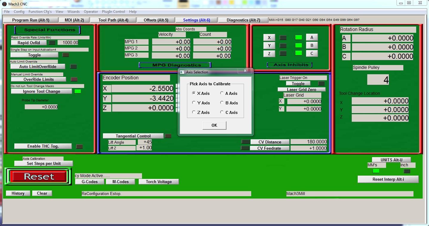Mach3 setup tutorial - first movements - PoBlog™