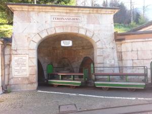 Salzbergwerk Berchtesgaden entrance