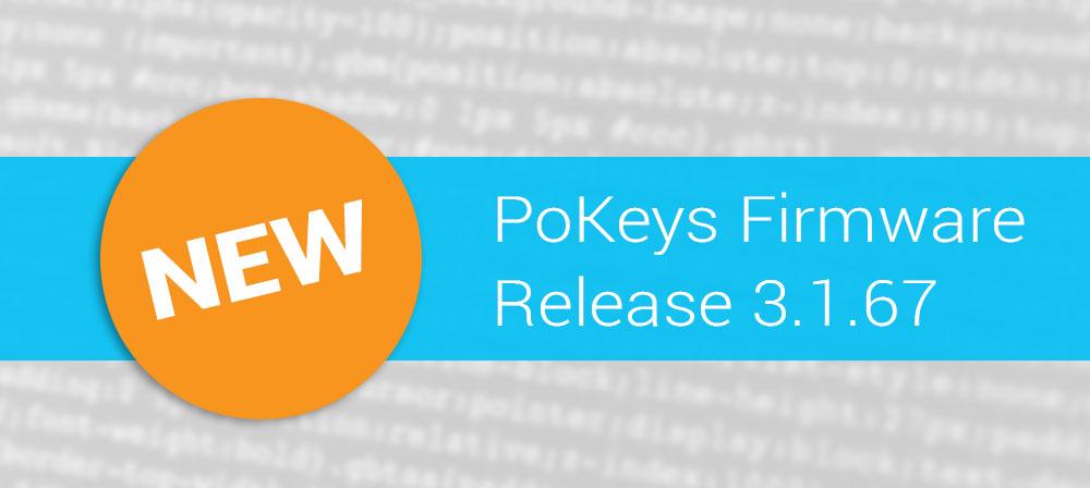 PoKeys update 3.1.67