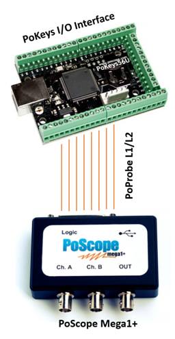 PoScopeMega1 as logic analyzer