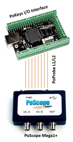 PoScopeMega1 as logic analyzer