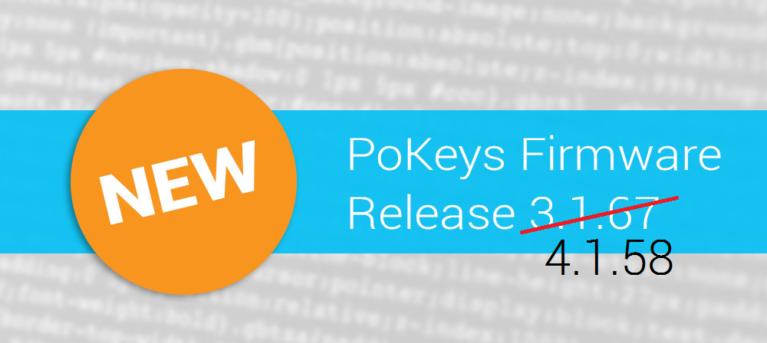 PoKeys update 4.1.58
