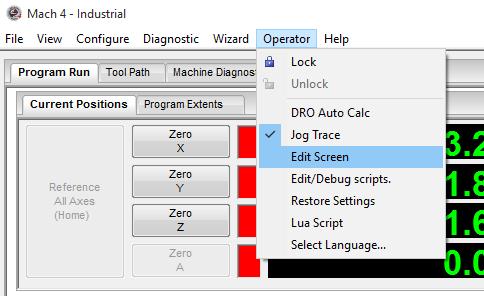 Mach4 - edit script for PoKeys IO