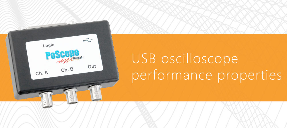 usb oscilloscope performance properties