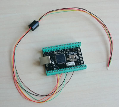 Connecting slip ring to PoKeys