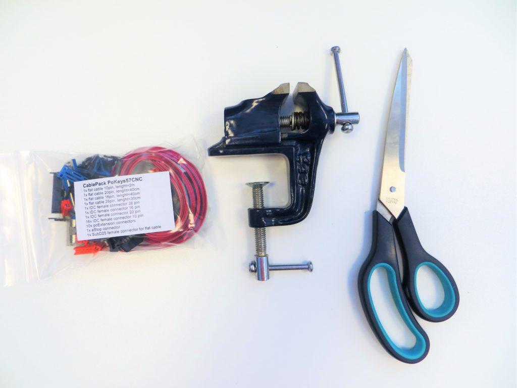 CabelPack PoKeys57CNC connectors - tools