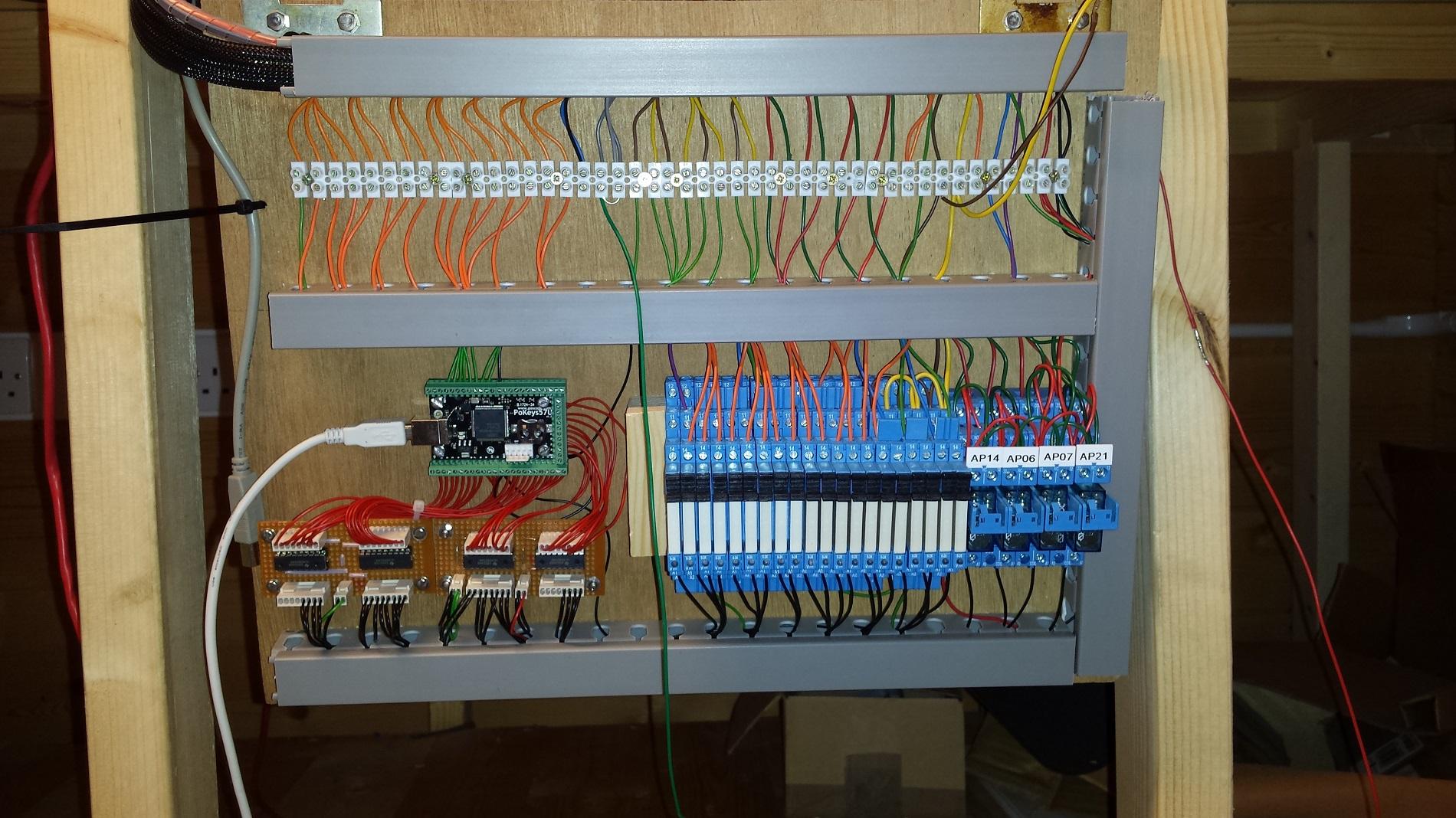 Photo 5: PoKeys57U interface boards