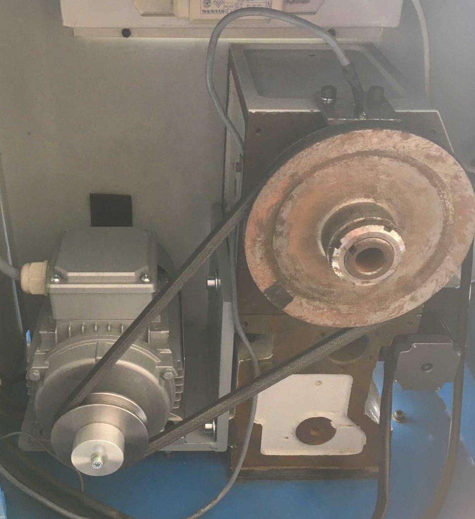 CNC Lathe spindle motor updated