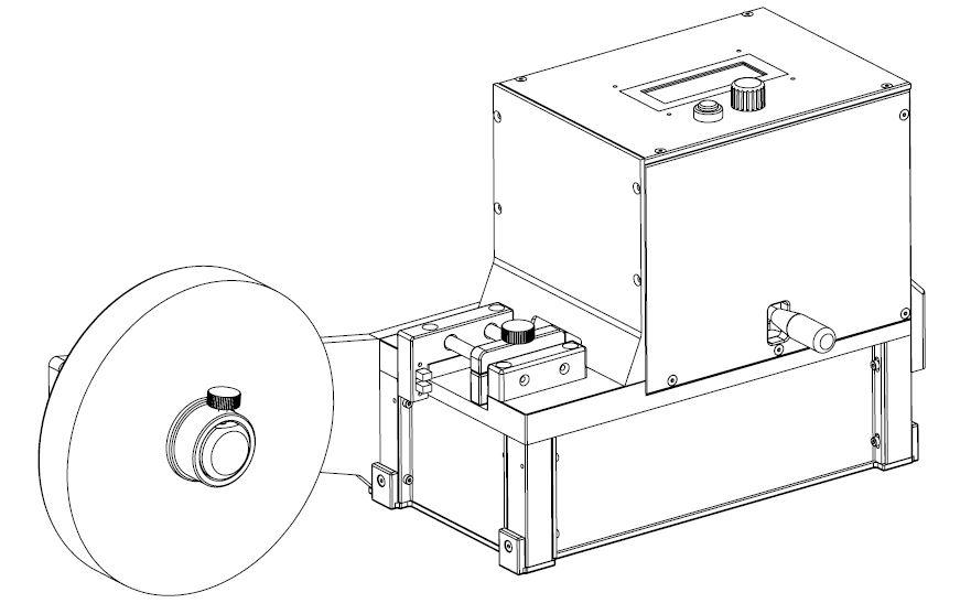 flat cable cutting machine