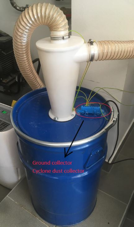 Dust collector - ground