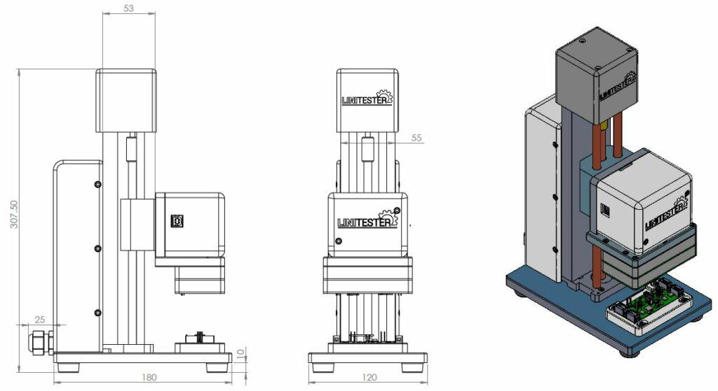 PCB testing equipment- single tester-LINITESTER- Automated PCB testing equipment